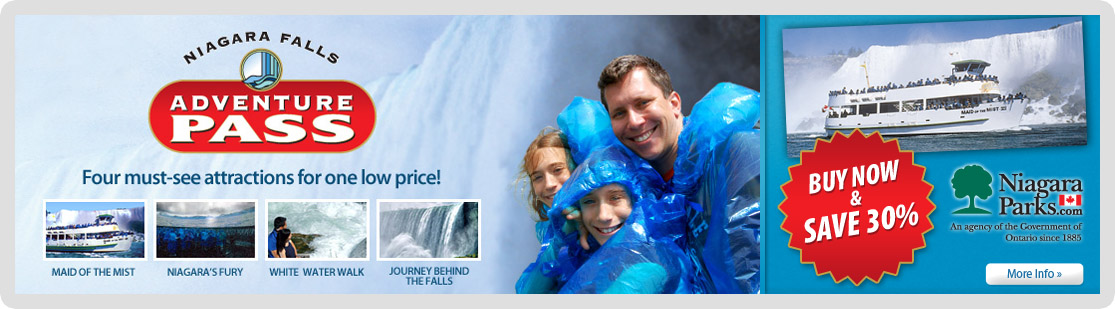 Niagara falls adventure pass coupons