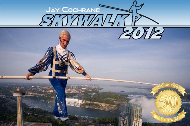 Jay Cochrane Skywalk Niagara Falls